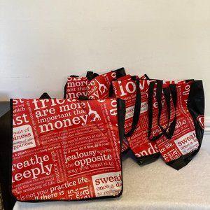 NEW lululemon (5) Large ReusableShopping Tote Bags